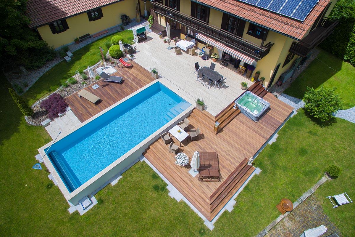 Top Terrasse mit Pool | Bauer und Söhne VO96