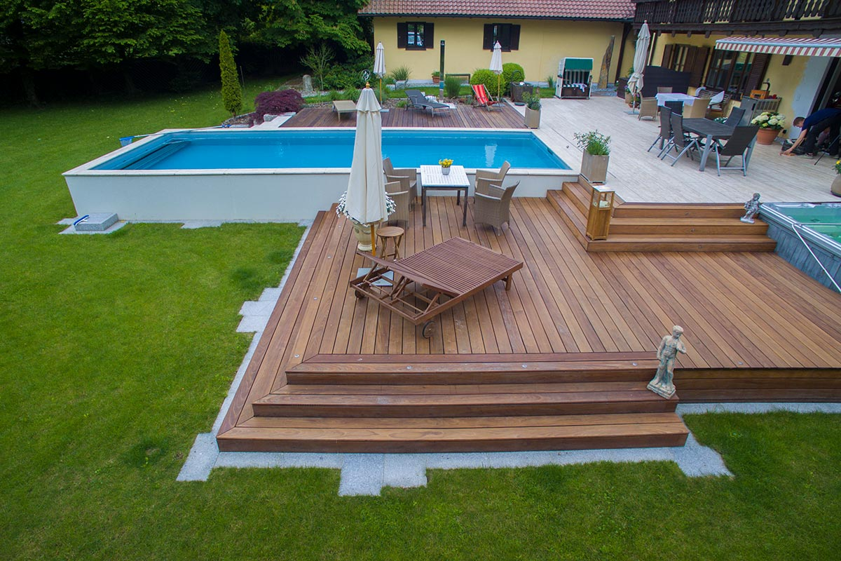 Extrem Terrasse mit Pool | Bauer und Söhne RZ67